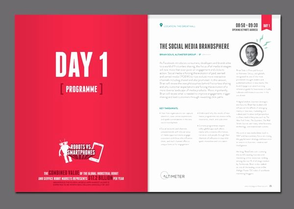 Conference Program Book Template Awesome 160 Best Program Layout Images On Pinterest