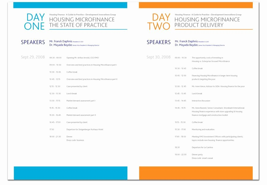Conference Program Book Template Beautiful Graphic Design Conference Brochure Google Search