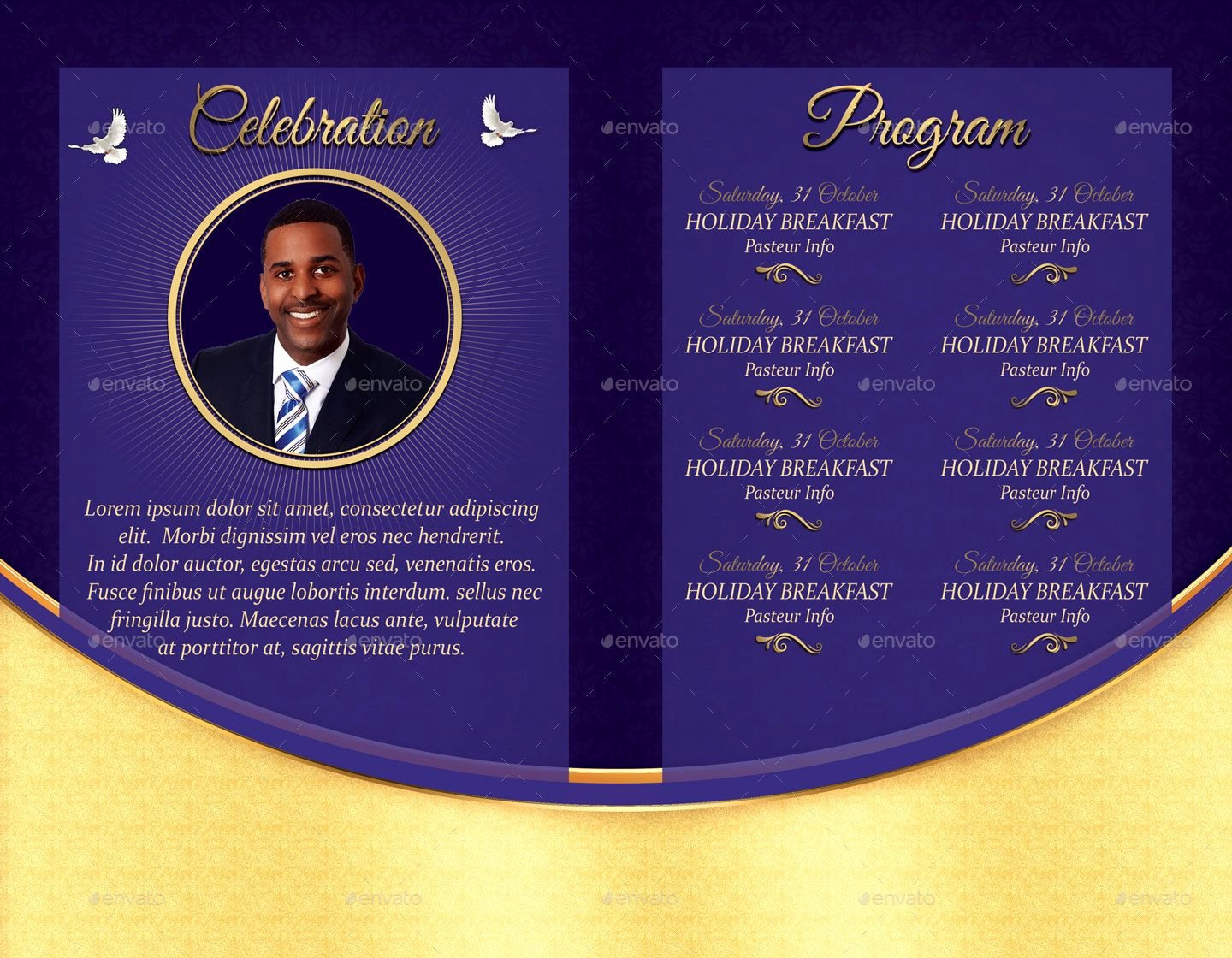 Conference Program Book Template Inspirational Church Conference Program Template Conference Church