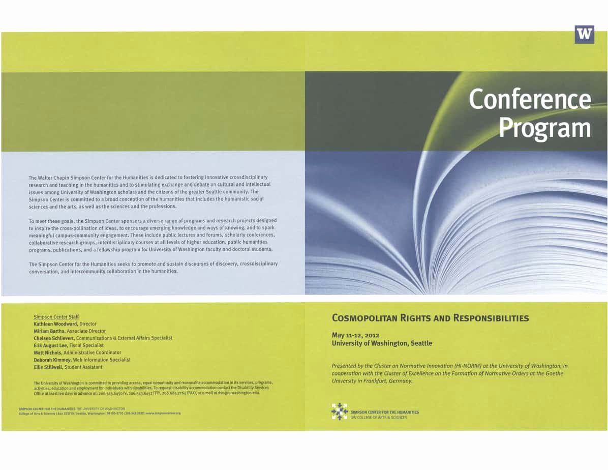 Conference Program Book Template Luxury 4 Free Conference Program Templates Word Excel Pdf