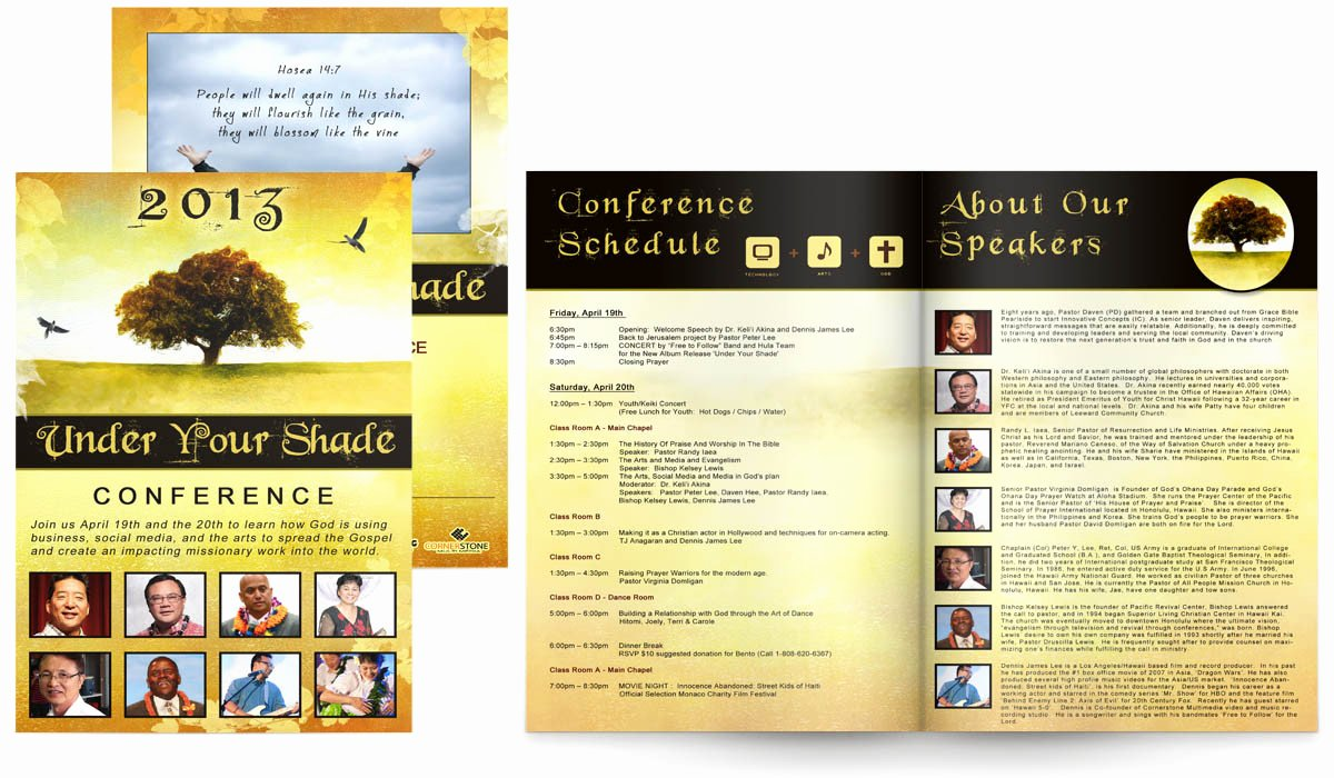 Conference Program Book Template Unique the Gallery for Conference Program Booklet Template – soohongp