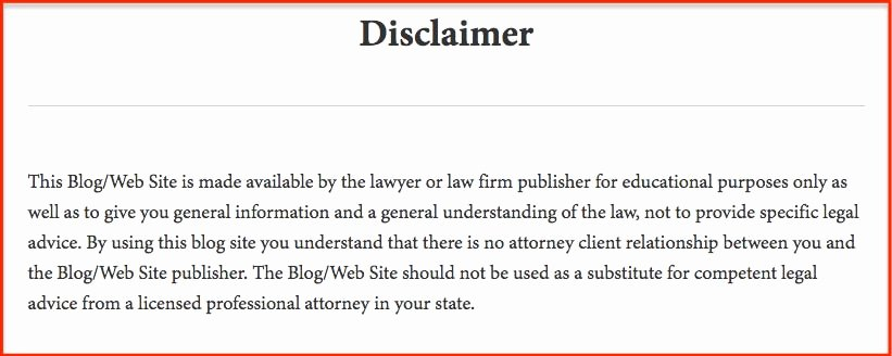 Confidential Notice for Documents Unique Free Legal Disclaimer Templates & Examples