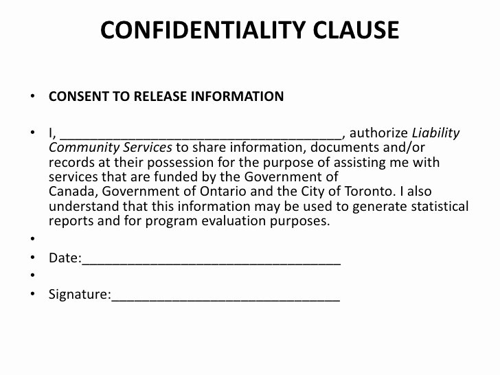 Confidentiality Clause for Documents Fresh A10 Liabilities issues In the Settlement Service Sector