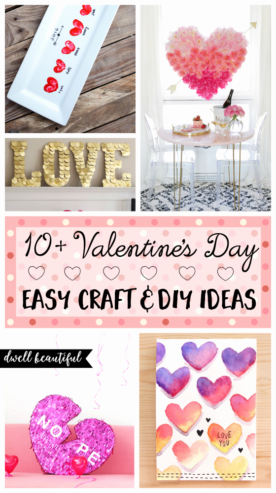 Construction Paper Crafts for Adults Elegant 10 Easy Valentine S Day Diy Craft Ideas for Adults