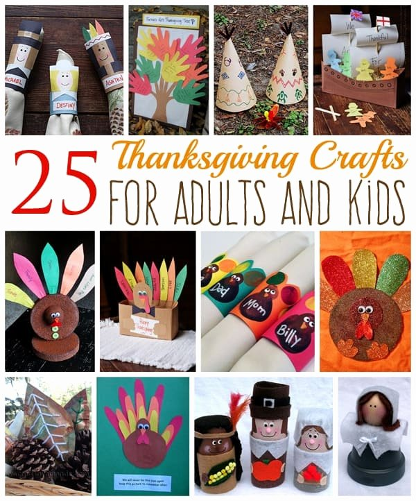 Construction Paper Crafts for Adults Fresh 25 Thanksgiving Crafts for Adults and Kids Crafts by Amanda