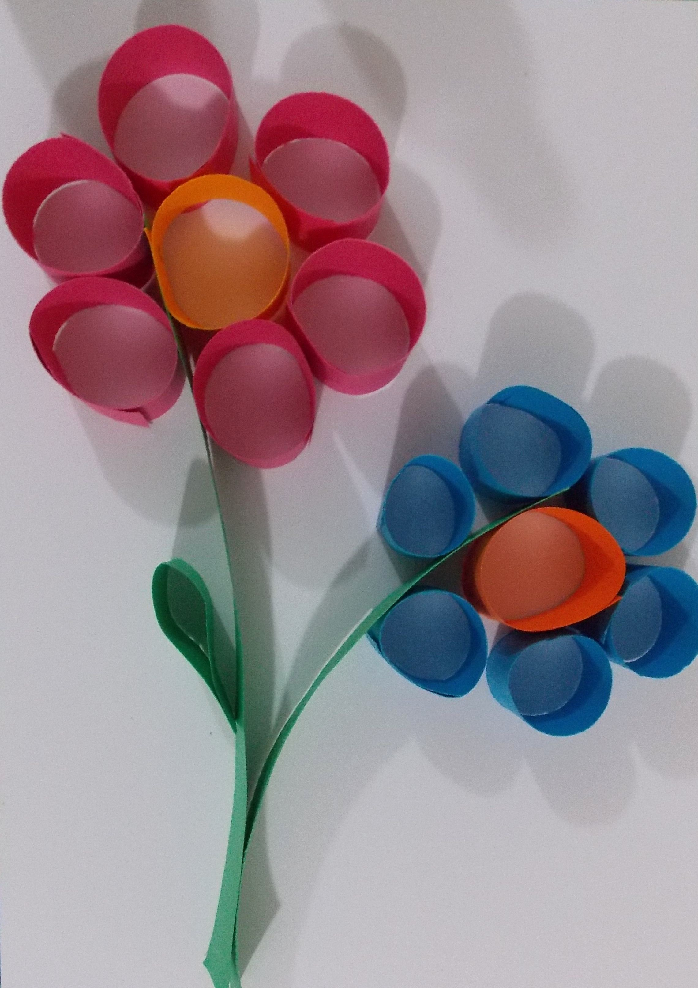 Construction Paper Crafts for Adults Fresh Flower Paper Craft Art Class Clients