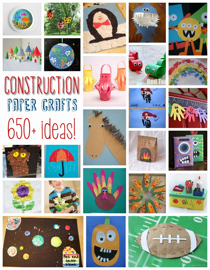 Construction Paper Crafts for Adults Lovely 650 Construction Paper Crafts