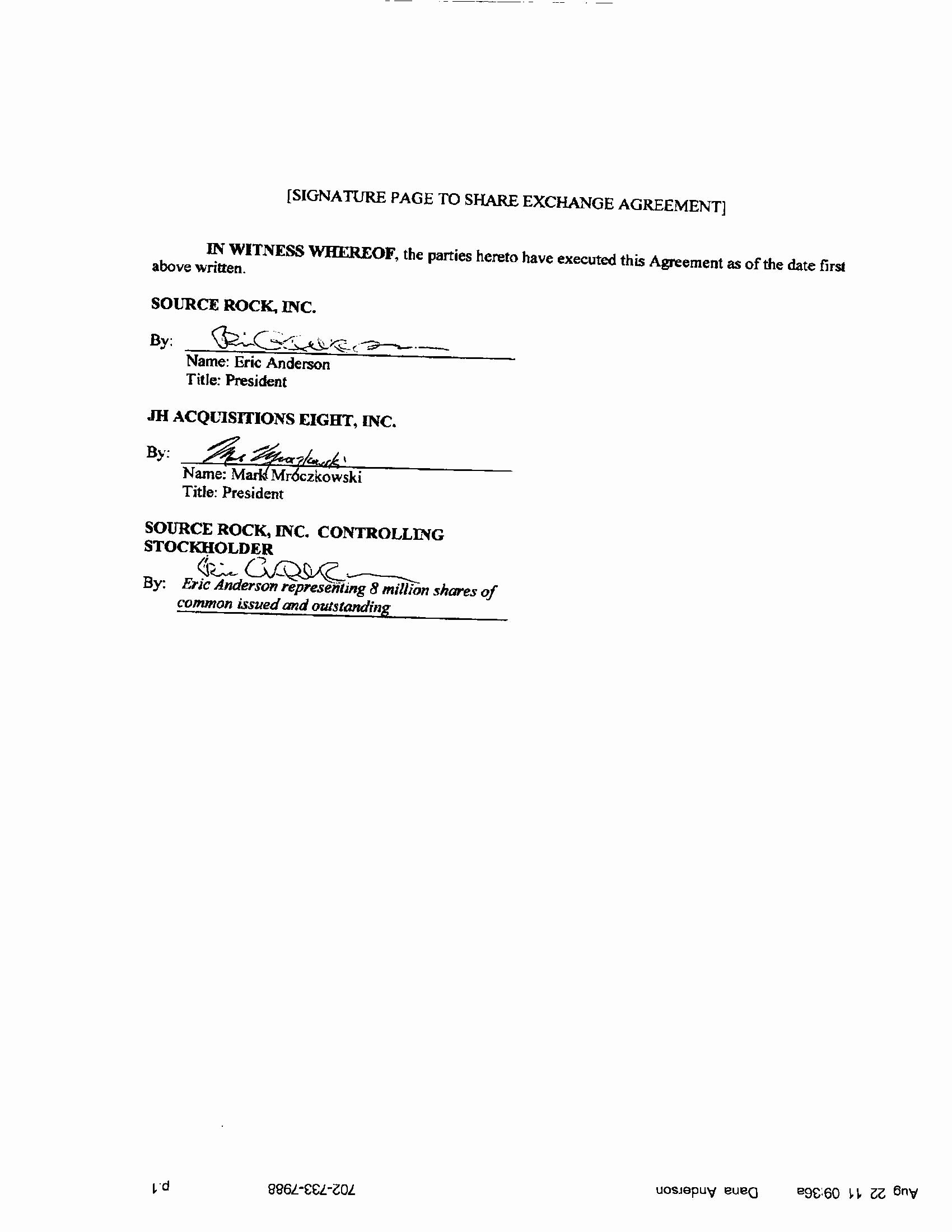 Contract Signature Page Example Awesome Edgar Filing Documents for 12