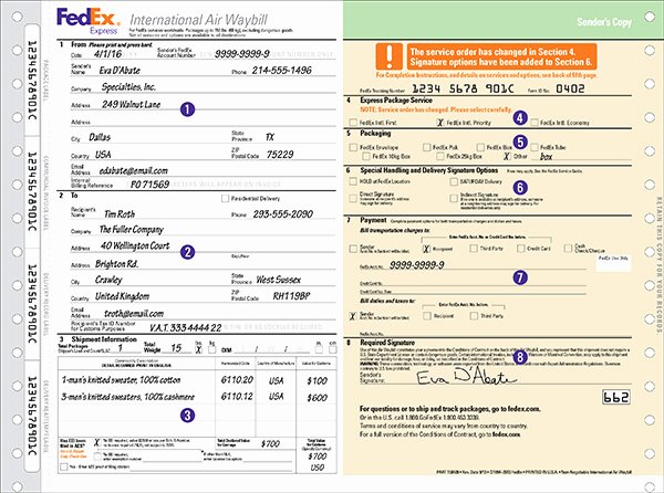 Conway Bill Of Lading Awesome Fedex Motor Freight Bill Lading Impremedia