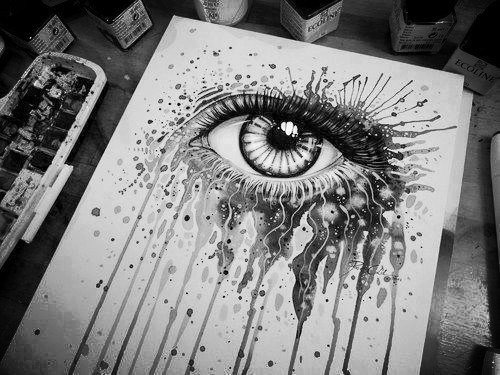 Cool Black and White Paintings Best Of Black and White Art On Tumblr