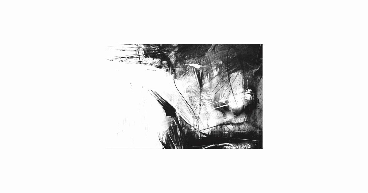 Cool Black and White Paintings Luxury Cool Art Abstract Black White Face Woman Canvas Print