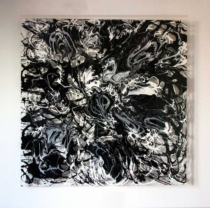 Cool Black and White Paintings New Drip Painting Cool No9 7 Recycled Art