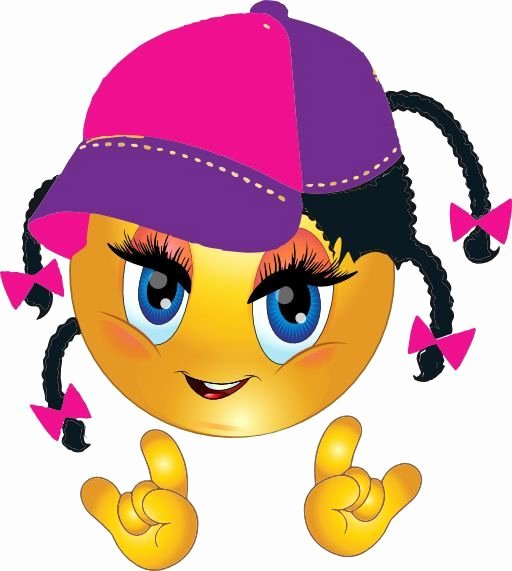 Cool Emoji Copy and Paste Inspirational Fly Girl Smiley What Do You Think About It Emoji Funny