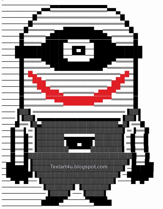 Cool Emoji Copy and Paste Lovely Copy Paste Minion Joker Text Art for