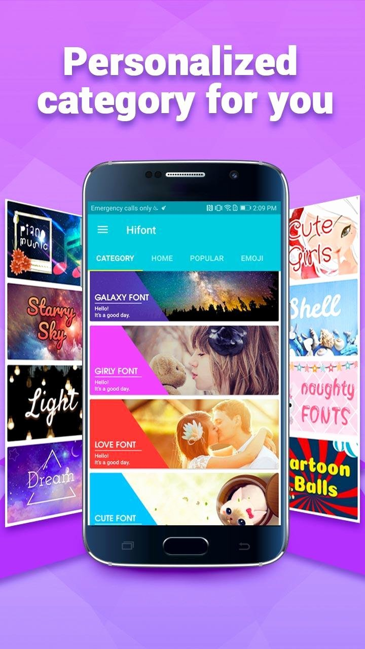 Cool Fonts for androids Lovely Hifont Cool Fonts Text Free Galaxy Flipfont for