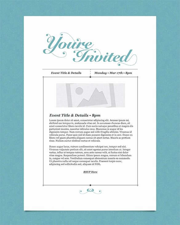 Corporate event Invitation Sample Luxury 30 Business Email Invitation Templates Psd Vector Eps