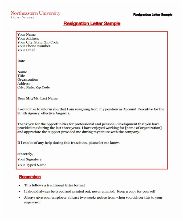 Corporate Officer Resignation Letter Elegant Sample Corporate Resignation Letters 10 Free Sample