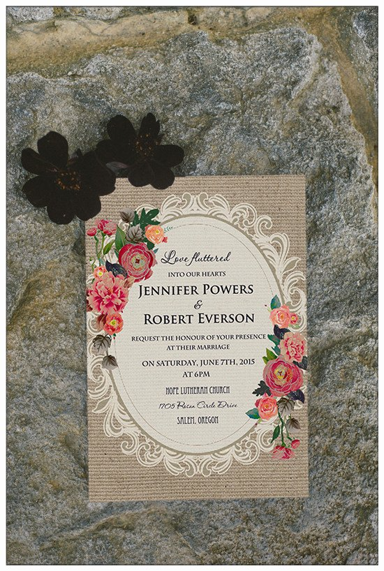 Country Wedding Invitation Ideas Best Of top 10 Chic Country Rustic Wedding Invitations with Free