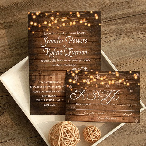 Country Wedding Invitation Ideas Best Of Winter Wedding Invitations Line at Elegant Wedding Invites
