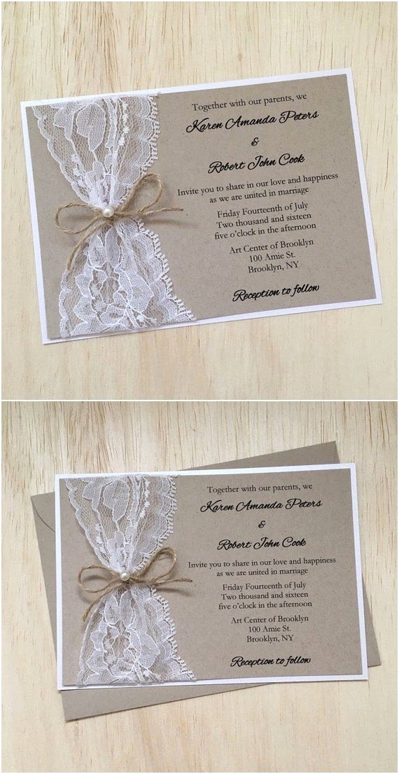Country Wedding Invitation Ideas Lovely 15 Rustic Wedding Invitations From Etsy
