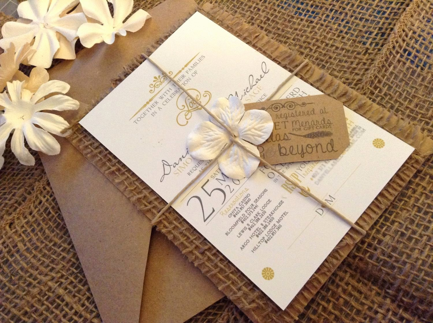 Country Wedding Invitation Ideas Unique Best 25 Burlap Wedding Invitations Ideas On Pinterest