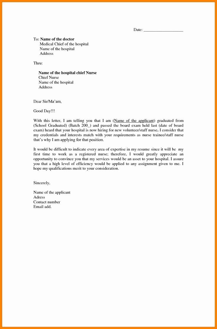 Cover Letter Examples for Nurses Lovely Best 25 Nursing Cover Letter Ideas On Pinterest