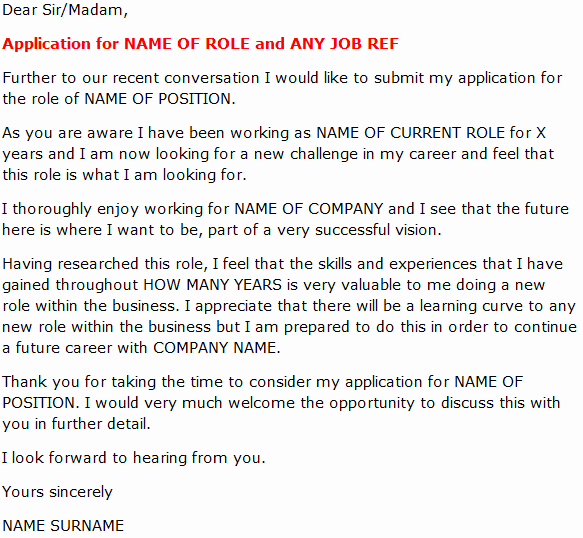 Cover Letter Examples for Promotion New Job Fer Letter Template and Salary Negotation Letter