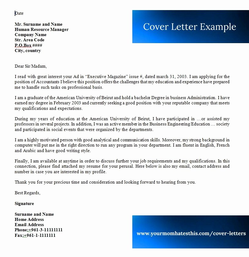 Cover Letter Examples Inspirational Cover Letter Samples Download Free Cover Letter Templates