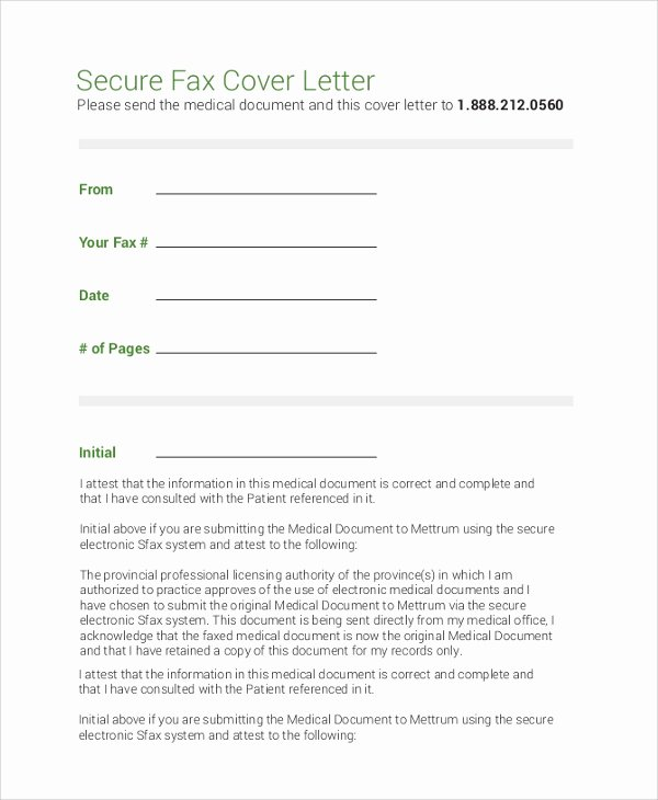 Cover Letter for A Fax Best Of 8 Sample Fax Cover Letters Pdf Word