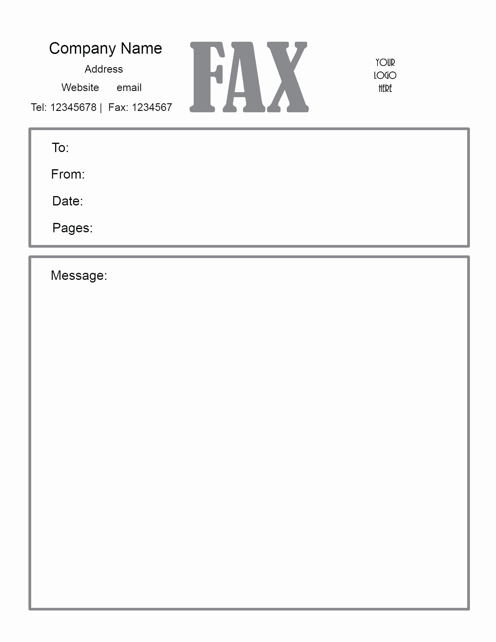 Cover Letter for A Fax Fresh Fax Cover Sheet Pdf Free Download