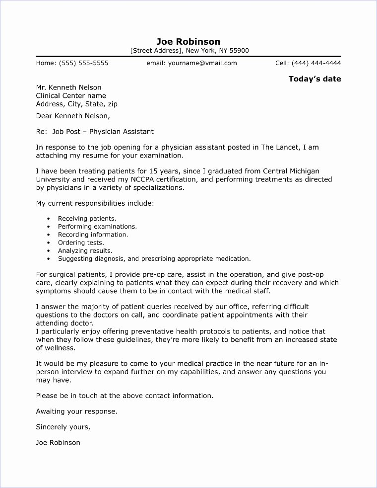 Cover Letter for assistant Lovely Physical therapist Cover Letter Sample