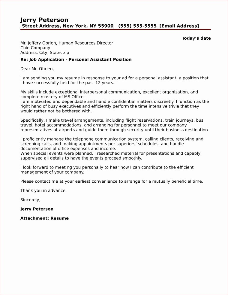 Cover Letter for assistant Unique 20 top Cover Letter Samples for Administration and Fice Jobs