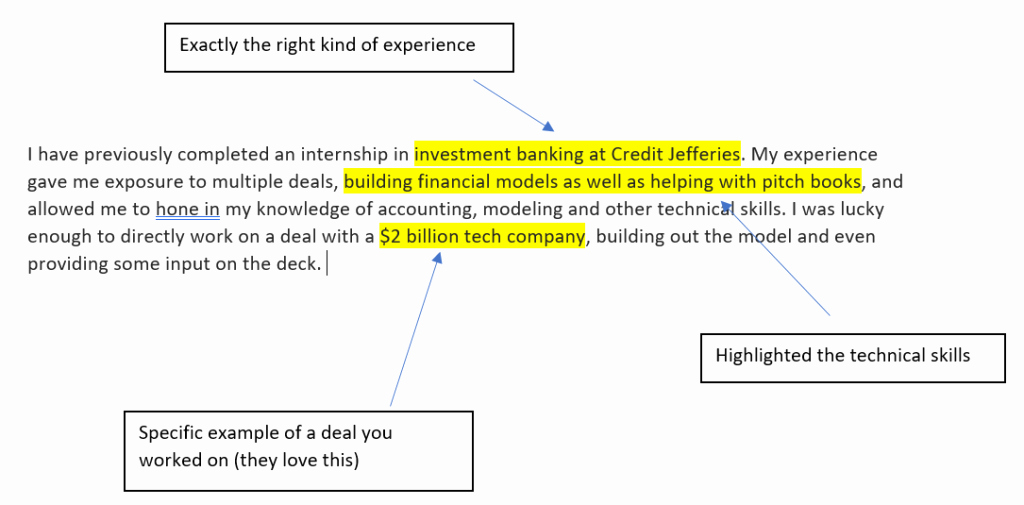 Cover Letter for Bank Awesome Investment Banking Cover Letter Template What You Re