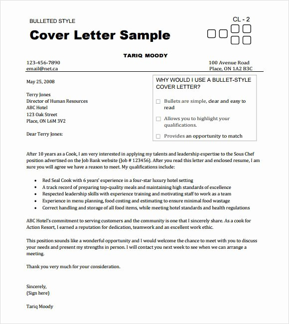 Cover Letter for Chef Fresh Chef Resume Templates Documents Pdf Word Psd sous