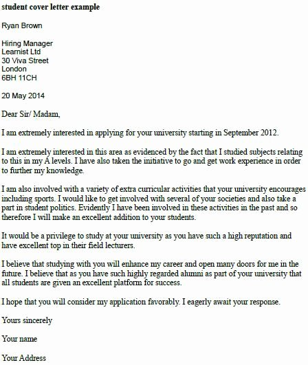 Cover Letter for College Inspirational Mckinsey Cover Letter London