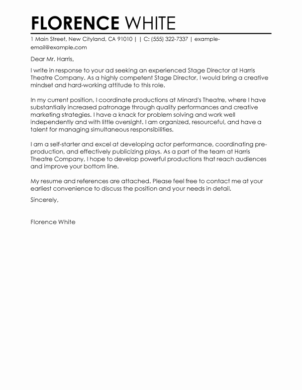 Cover Letter for Doctors Elegant 9 Essential Cover Letter formats for Your Job Application