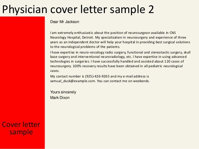 Cover Letter for Doctors Luxury Physician Cover Letter