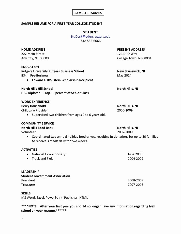 Cover Letter for First Job Beautiful First Job Resume Google Search Resume