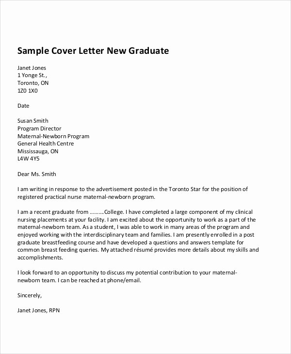 Cover Letter for First Job Fresh 8 First Job Cover Letters Free Sample Example format