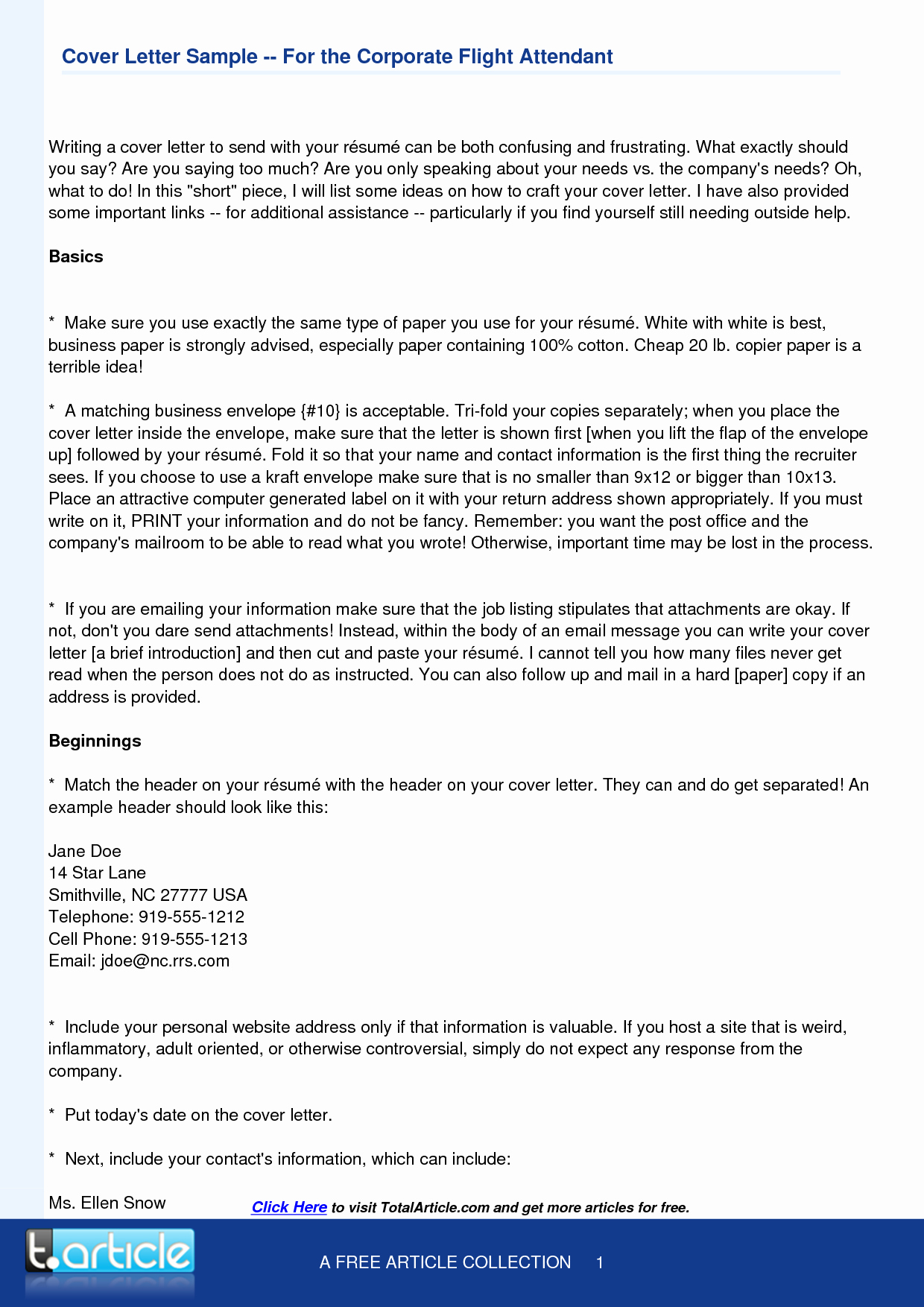 Cover Letter for Flight attendant Beautiful Flight attendant Cover Letter Template