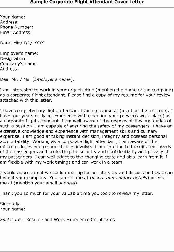 Cover Letter for Flight attendant Fresh 16 Best Job and Interview Tips for Yacht Crew and Flight