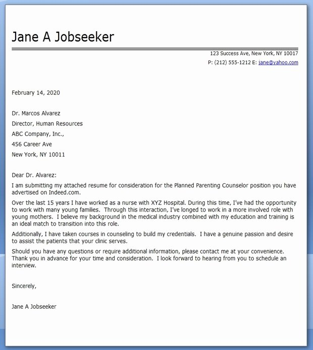 Cover Letter for Job Change Elegant Cover Letter Nursing Career Change