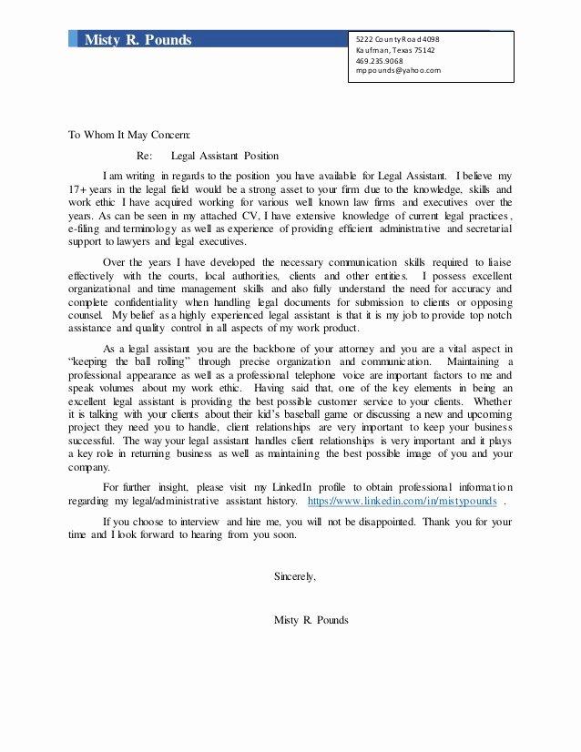 Cover Letter for Legal Job Lovely Cover Letters for Legal Secretary Jobs Include