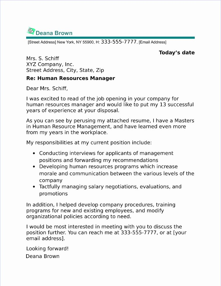 Cover Letter for Manager New 20 top Accounting & Finance Cover Letter Examples