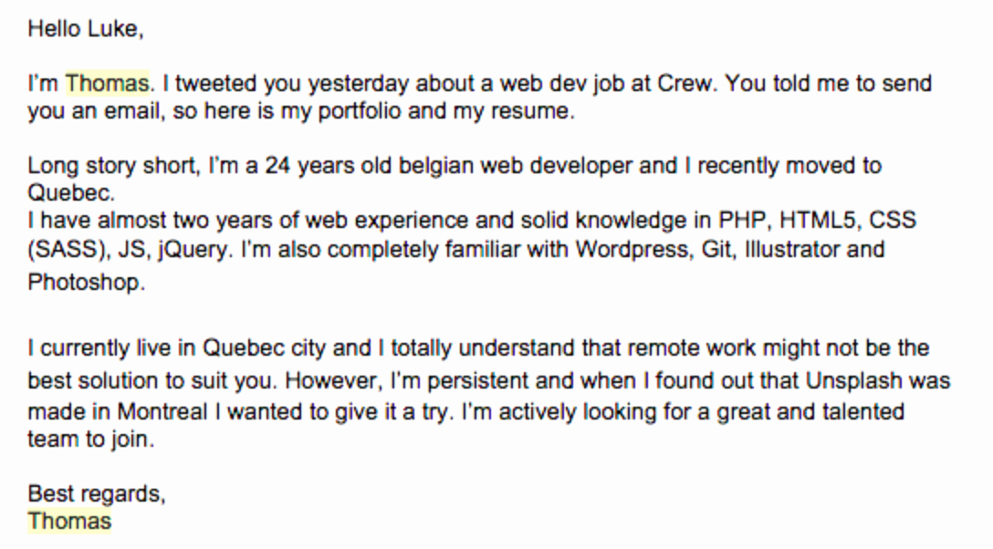 Cover Letter for Net Developer Elegant Email & Cover Letter Examples to Pair with Resumes & Cvs