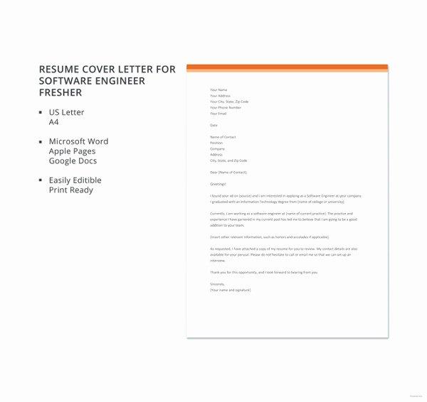 Cover Letter for Net Developer New 8 software Developer Cover Letter Templates Free Sample
