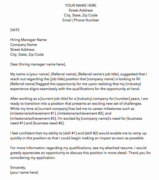 Cover Letter for New Career Awesome 10 Cover Letter Templates to Perfect Your Next Job Application