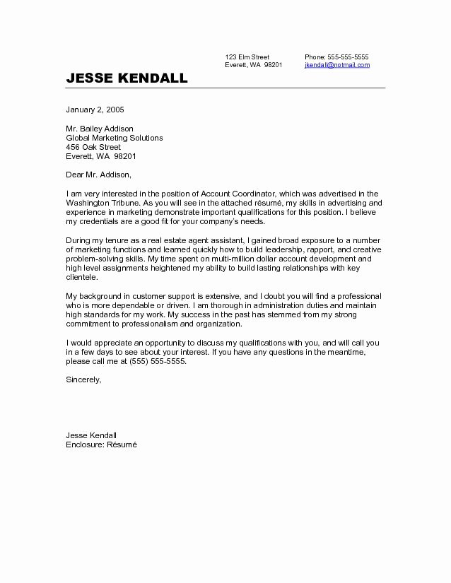 Cover Letter for New Career Awesome 10 Sample Of Career Change Cover Letter