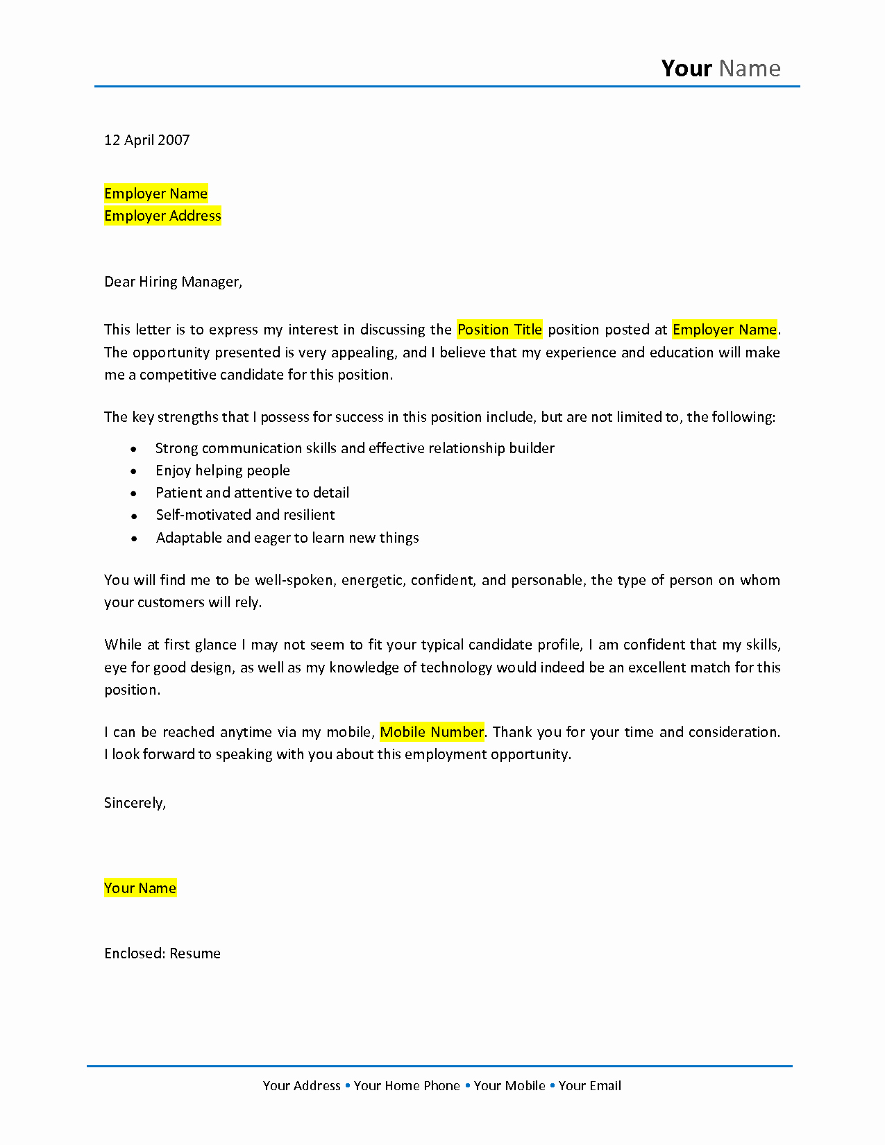 Cover Letter for New Career Luxury 10 Sample Of Career Change Cover Letter