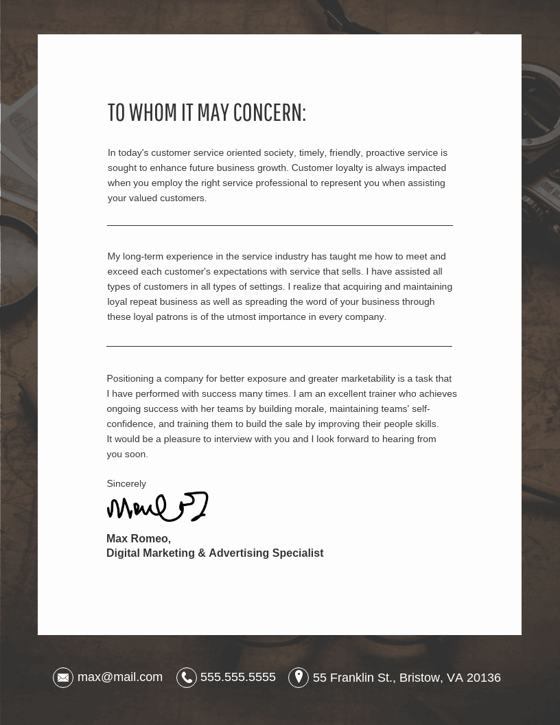 Cover Letter for Photography Job Lovely 10 Cover Letter Templates and Expert Design Tips to